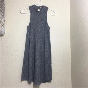Ribbed Hollister Skater Dress